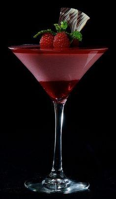 Raspberry Ice Tea Martini