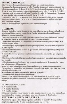 Taller de Ana María: MOLDE TELAR