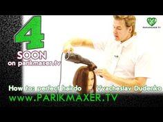 7 советов по укладке волос. Вячеслав Дюденко на parikmaxer.tv - YouTube
