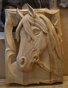Wood Carving Designs, Wood Carving Tools, Wood Carving Patterns, Wood Carvings, Wooden Art, Wood Wall Art, Wood Art Design, Simple Wood Carving, Tree Carving