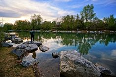 Calgary Prince's Island Park, amazing oasis downtown. Photo by Totororo Just Go Places | Share Travel Experience