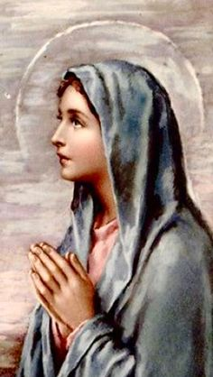 Our Lady of Medjugorje. Blessed Mother Mary, Blessed Virgin Mary, Religious Photos, Religious Art, Jesus E Maria, Vintage Holy Cards, Lady Of Lourdes, Religion, Queen Of Heaven