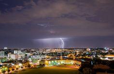 SUMMER STORM, MELBOURNE