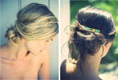 I want headbands like this.