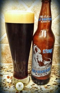Stone - Sublimely Self-Righteous Black IPA