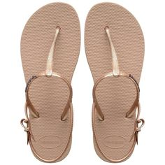 Havaianas Sandals Havaianas Thong Sandals Freedom in beige please size 41-42