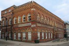 The Wedgwood Memorial Institute in Burslem