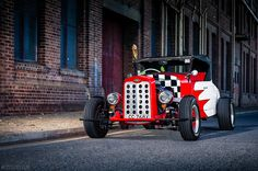 """The """"Cherry Bombers CC"""" 28 Chevrolet Roadster"""
