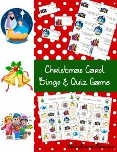 Christmas Carol Bingo & Quiz Game - Have fun quizzing your family's knowledge of twelve famous Christmas carols with thirty-six trivia questions. Christmas Games, Christmas Carol, Christmas Lunch, Xmas, Bingo For Kids, Activities For Kids, Hanukkah Music, Christian Homeschool, Kids Board