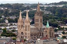 Truro Cathedral in Truro, Cornwall