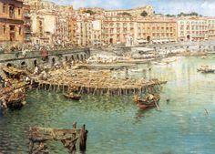 Vincenzo Migliaro (1858-1938) - Via Santa Lucia