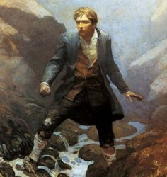 yfrontsandback:  N.C.Wyeth: Kidnapped by Robert Louis Stevenson, 1913