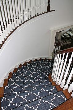 Stair runner idea...