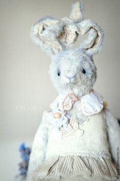 Зайка Сара - серый,светло-серый,белый,кролик,зайка,зайчика,девочка кролик