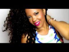 crochet braids with bangs Marley Twists, Crochet Braids Hairstyles, Curled Hairstyles, Natural Hair Tips, Natural Hair Styles, Afro Hair Woman, Afro Hair Tutorial, Mane Hair, Crochets Braids
