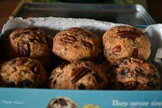 Américan Cookies aux noix de pécan