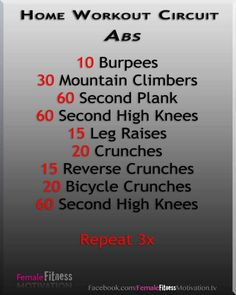 Home Workout Circuit-ABS