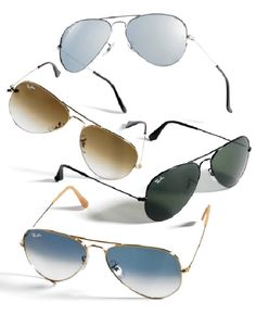 Whether you're participating in a sport or just a spectator, Raybans are a must-have