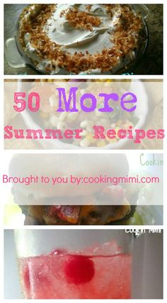 A collection of 50 summer recipes.