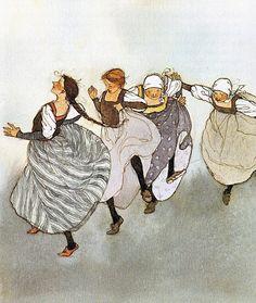 Lisbet Zwerger - children's book illustrator of the first order.
