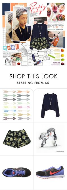 """""""I want to be the only person you can see"""" by followmiiin ❤ liked on Polyvore featuring NIKE, vixx and ravi"""