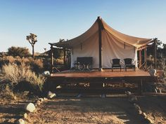 Airbnb Desert Camp | A Unique Glamping Experience in the Mojave Desert