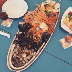 More details: #seafood with #friends #spain