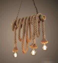 Купить товарЛофт американский кантри старинные веревка бамбука подвесной свет E27 лампы творческой личности ретро гостиная ресторан AC 90   260 В в категории Подвесные светильникина AliExpress.           Vintage Rope Pendant Light Lamp Loft Creative Personality Industrial Lamp Edison Bulb Americ