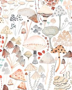 Sara Boccaccini MeadowsさんはInstagramを利用しています:「Mushroom Melody #details from my collaboration with @ohmyhome #ohmyhomexboccaccinimeadows #pattern」