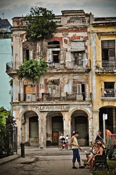 Cuba... I would love a romantic vacation with my husband on this beautiful island.