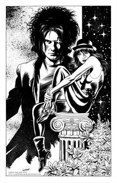SANDMAN: Dream and Death by LostonWallace.deviantart.com