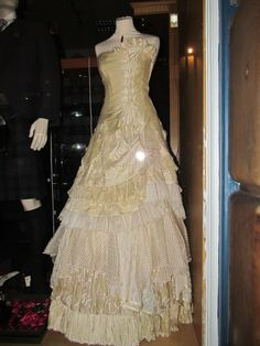 These dresses were simply stunning when we saw them in Edinburgh