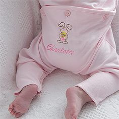 Every Easter baby needs this.  So adorable!