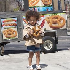 Craving giant NYC pretzels today. #brooklyn #dumbo