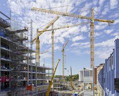 Liebherr Tower Cranes in Stockholm, SWE