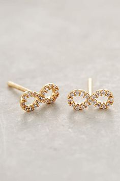Petite Infinity Studs #AnthroFave