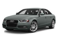 Awesome Audi: 2014 Audi A4 Silver  Audi
