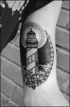 ... Tattoo on Pinterest | Ink Art nouveau tattoo and Lighthouse tattoos