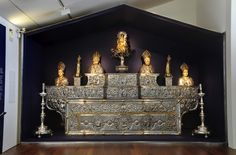 Altar de Plata. Catedral de Barbastro s. XVIII