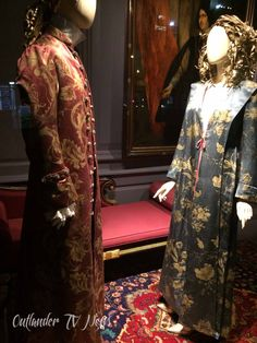 If you haven't heard or seen them in person, Outlander collaborated with Saks Fifth Avenue in New York City. The result is a few windows displaying the costumes of Outlander season two by co…