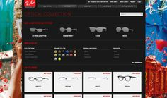 RayBan - examples of styles to filter