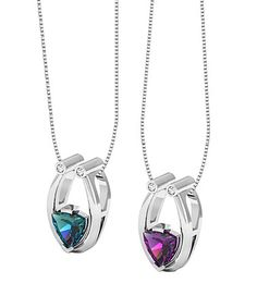 7497048c05e1af Glimmering Crystal Color-Changing Necklace With Crystals From SWAROVSKI