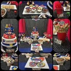 Jonathan's Paw Patrol 5th Birthday Party | CatchMyParty.com