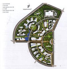 .. Urban Design Concept, Urban Design Plan, Plan Design, Architecture Site Plan, Urban Architecture, Sustainable Architecture, Landscape Plans, Urban Landscape, Landscape Design
