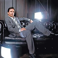 """Jon Hamm named as one of People magazine's """"Sexiest Men Alive"""", 2008."""