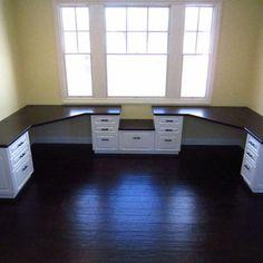Corner Desk Design Ideas, Pictures, Remodel, and Decor - page 4