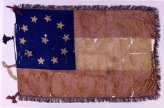 Flag of the 2nd Maryland Infantry, Company A.  Museum of the Confederacy.