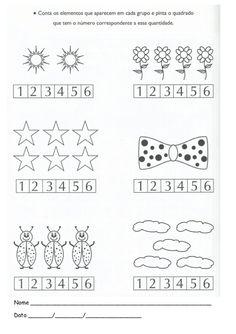 Aprender números - pré-escolar