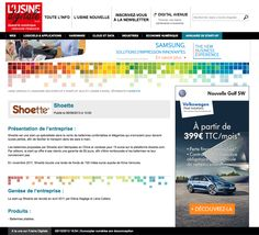 Une Google Alerte nous informe que Shoette a rejoint l'annuaire de L'Usine Nouvelle. Serions-nous en train de grandir? http://www.usine-digitale.fr/annuaire-start-up/shoette,204171#xtor=EPR-169