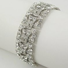 Www.miaelenabridalboutique.com Bridal jewelry  crystal bracelet